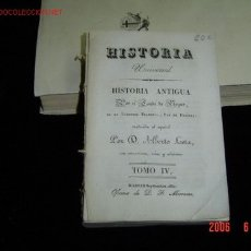 Libros antiguos: HISTORIA ANTIGUA POR EL CONDE DE SEGUR TOMO IV 1830. Lote 4106190