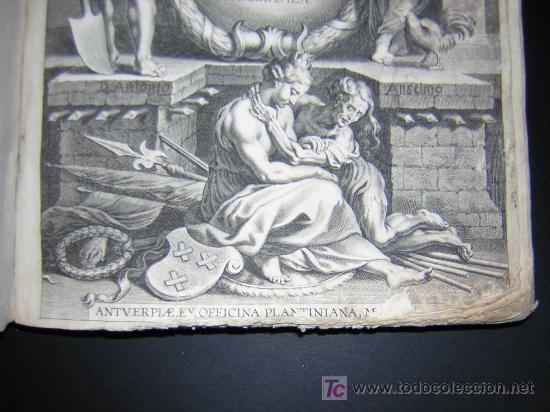 Libros antiguos: 1626 - HERMANNUS - OBSIDIO BREDANA ARMIS PHILIPPI IIII - SOBRE LA TOMA DE BREDA - 13 LÁMINAS - FOLIO - Foto 3 - 27456959