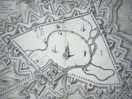 Libros antiguos: 1626 - HERMANNUS - OBSIDIO BREDANA ARMIS PHILIPPI IIII - SOBRE LA TOMA DE BREDA - 13 LÁMINAS - FOLIO - Foto 7 - 27456959