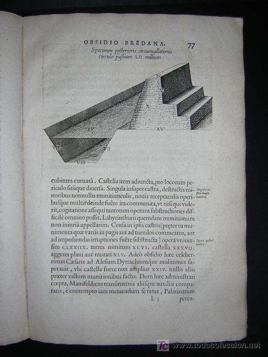 Libros antiguos: 1626 - HERMANNUS - OBSIDIO BREDANA ARMIS PHILIPPI IIII - SOBRE LA TOMA DE BREDA - 13 LÁMINAS - FOLIO - Foto 11 - 27456959