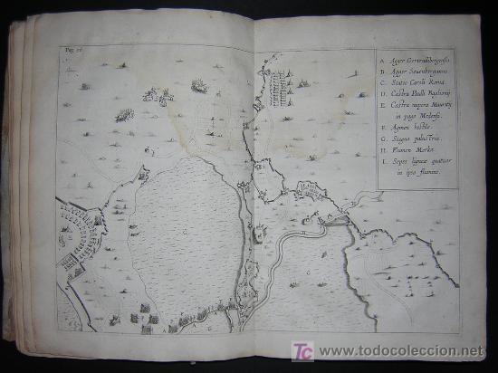 Libros antiguos: 1626 - HERMANNUS - OBSIDIO BREDANA ARMIS PHILIPPI IIII - SOBRE LA TOMA DE BREDA - 13 LÁMINAS - FOLIO - Foto 12 - 27456959
