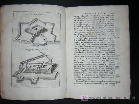 Libros antiguos: 1626 - HERMANNUS - OBSIDIO BREDANA ARMIS PHILIPPI IIII - SOBRE LA TOMA DE BREDA - 13 LÁMINAS - FOLIO - Foto 13 - 27456959