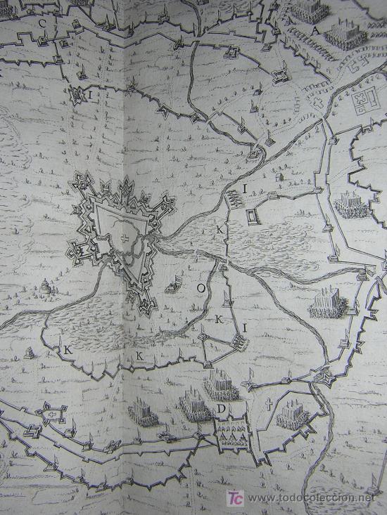 Libros antiguos: 1626 - HERMANNUS - OBSIDIO BREDANA ARMIS PHILIPPI IIII - SOBRE LA TOMA DE BREDA - 13 LÁMINAS - FOLIO - Foto 15 - 27456959