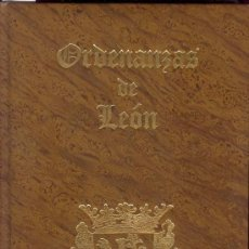 Libros antiguos: 1669 - ORDENANZAS DE LEÓN [FACSÍMIL]. Lote 26956057