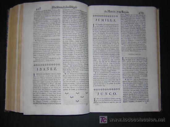 Libros antiguos: 1775 - FRANCISCO CASCALES - DISCURSOS HISTORICOS DE LA MUY NOBLE Y MUY LEAL CIUDAD DE MURCIA - Foto 10 - 26770697