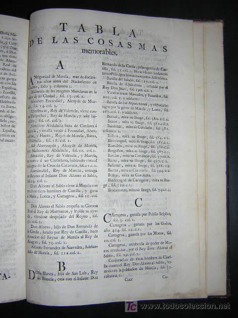 Libros antiguos: 1775 - FRANCISCO CASCALES - DISCURSOS HISTORICOS DE LA MUY NOBLE Y MUY LEAL CIUDAD DE MURCIA - Foto 21 - 26770697