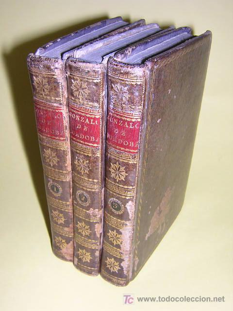 1804 - CABALLERO FLORIAN - GONZALO DE CORDOBA Ó LA CONQUISTA DE GRANADA + HISTORIA DE LOS MOROS (Libros antiguos (hasta 1936), raros y curiosos - Historia Antigua)