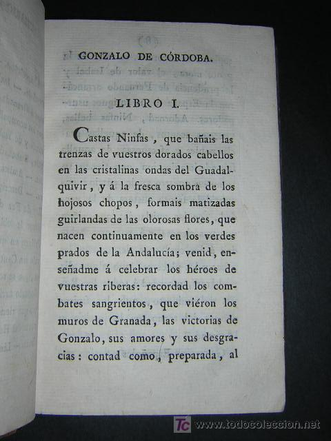 Libros antiguos: 1804 - CABALLERO FLORIAN - GONZALO DE CORDOBA Ó LA CONQUISTA DE GRANADA + HISTORIA DE LOS MOROS - Foto 6 - 26371533