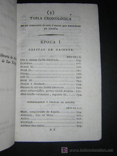 Libros antiguos: 1804 - CABALLERO FLORIAN - GONZALO DE CORDOBA Ó LA CONQUISTA DE GRANADA + HISTORIA DE LOS MOROS - Foto 9 - 26371533