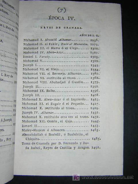 Libros antiguos: 1804 - CABALLERO FLORIAN - GONZALO DE CORDOBA Ó LA CONQUISTA DE GRANADA + HISTORIA DE LOS MOROS - Foto 10 - 26371533