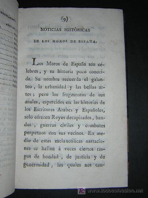 Libros antiguos: 1804 - CABALLERO FLORIAN - GONZALO DE CORDOBA Ó LA CONQUISTA DE GRANADA + HISTORIA DE LOS MOROS - Foto 11 - 26371533