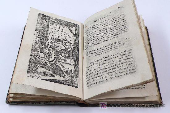 Libros antiguos: historia de la vida,hechos, y astúcias del rústico bertoldo, la de bertoldino, etc. piferrer 1844 - Foto 2 - 24091961