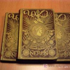 Libros antiguos: NERON DE MONTANER Y SIMON VOLUMEN I-II-III. Lote 23318908
