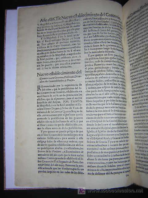 Libros antiguos: 1686 - FUEROS Y ACTOS DE CORTE DEL REYNO DE ARAGON, EN LAS CORTES DE ZARAGOZA DE 1684 - TABACO - Foto 5 - 26271285
