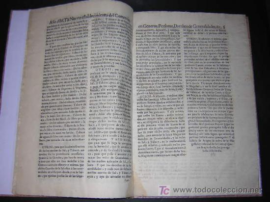 Libros antiguos: 1686 - FUEROS Y ACTOS DE CORTE DEL REYNO DE ARAGON, EN LAS CORTES DE ZARAGOZA DE 1684 - TABACO - Foto 7 - 26271285