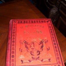 Libros antiguos: HISTORIA GENERAL DE ESPAÑA. POR MIGUEL MORAYTA. TOMO 2. EN CUERO ROJO.. Lote 26922675