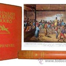 Libros antiguos: 1924 - ANTIGUOS DEPORTES INGLESES - ILUSTRADO Y NUMERADO. Lote 18865692