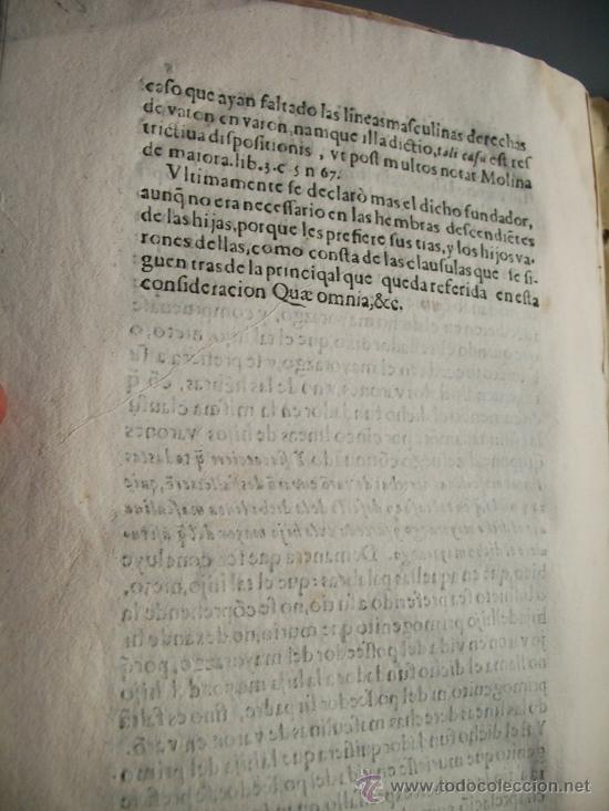 Libros antiguos: 1523- MAYORAZGO Y FAMILIA ARANA.GUADIX, HUÉLAGO, ALCALÁ LA REAL. GRANADA. - Foto 9 - 26988682
