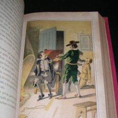 Libros antiguos: VICTOR BALAGUER - DON JUAN DE SERRALLONGA NOVELA HISTORICA ORIGINAL , MUY ILUSTRADA, 2 TOMOS. Lote 20506485