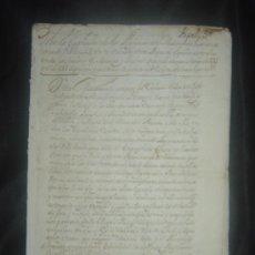 Libros antiguos: 1650C.- LAS PROFECÍAS DE MALAQUÍAS. RARO Y EXTRAÑO MANUSCRITO.ORIGINAL.PUEDE PAGARSE A PLAZOS.. Lote 27574908
