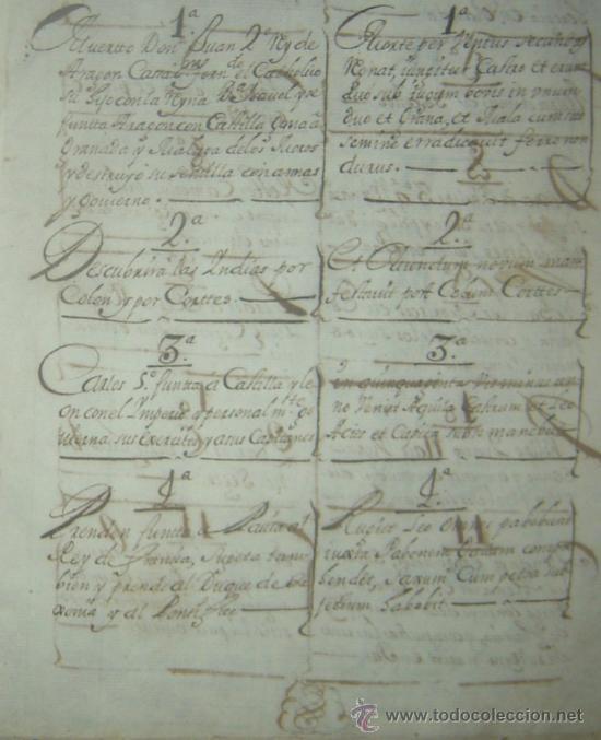 Libros antiguos: 1650C.- LAS PROFECÍAS DE MALAQUÍAS. RARO Y EXTRAÑO MANUSCRITO.ORIGINAL.PUEDE PAGARSE A PLAZOS. - Foto 4 - 27574908