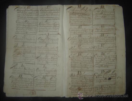 Libros antiguos: 1650C.- LAS PROFECÍAS DE MALAQUÍAS. RARO Y EXTRAÑO MANUSCRITO.ORIGINAL.PUEDE PAGARSE A PLAZOS. - Foto 5 - 27574908