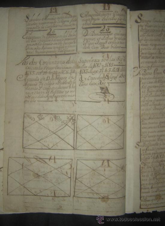 Libros antiguos: 1650C.- LAS PROFECÍAS DE MALAQUÍAS. RARO Y EXTRAÑO MANUSCRITO.ORIGINAL.PUEDE PAGARSE A PLAZOS. - Foto 7 - 27574908