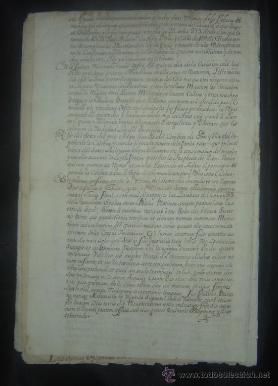 Libros antiguos: 1650C.- LAS PROFECÍAS DE MALAQUÍAS. RARO Y EXTRAÑO MANUSCRITO.ORIGINAL.PUEDE PAGARSE A PLAZOS. - Foto 9 - 27574908