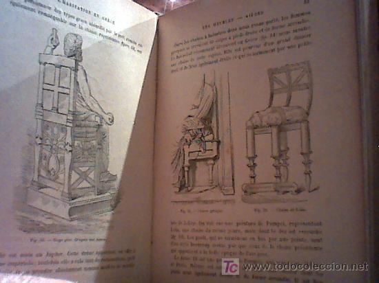 Libros antiguos: vie privée des anciens. la famille dans l'antiquité. l'habitation (rené menard et claude sauvageot) - Foto 3 - 20270782