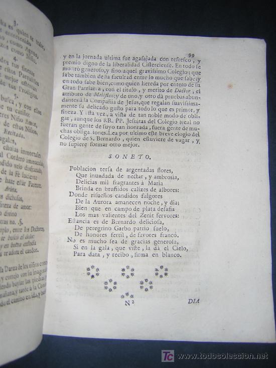 Libros antiguos: 1746 - LA JUVENTUD TRIUNFANTE - JESUITAS, SALAMANCA, POESIA - Foto 7 - 27416712