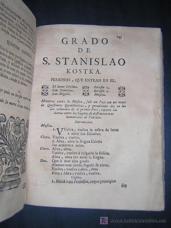 Libros antiguos: 1746 - LA JUVENTUD TRIUNFANTE - JESUITAS, SALAMANCA, POESIA - Foto 9 - 27416712