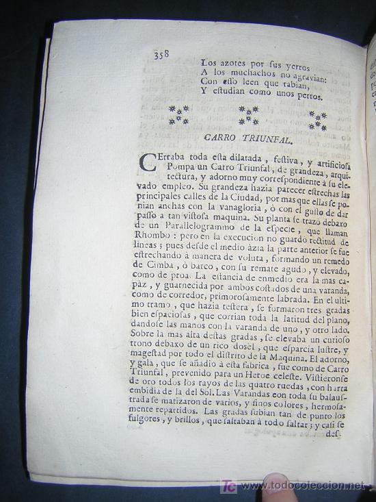 Libros antiguos: 1746 - LA JUVENTUD TRIUNFANTE - JESUITAS, SALAMANCA, POESIA - Foto 10 - 27416712