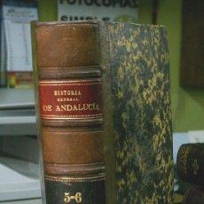 Libros antiguos: HISTORIA GENERAL DE ANDALUCIA - 1870. Lote 20544352