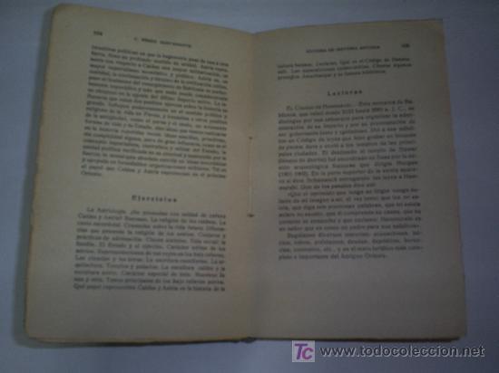 Libros antiguos: Síntesis de Historia Antigua Texto lecturas y ejercicios C PÉREZ BUSTAMANTE 1934 RM45823 - Foto 4 - 21664198