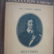 Libros antiguos: HISTORIA DE INGLATERRA. GERBER, LAMBERT. 1926. LABOR. Lote 20692883