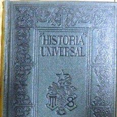 Libros antiguos: HISTORIA UNIVERSAL TOMO 14 * EL ISLAMISMO * - G. ONCKEN - BARCELONA, MONTANER - AÑO 1934 - 478 P. Lote 20974151