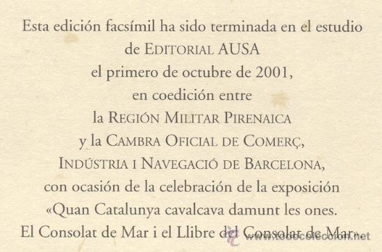 Libros antiguos: CONSULADO del MAR de BARCELONA – Año 1732 - Foto 6 - 27545565
