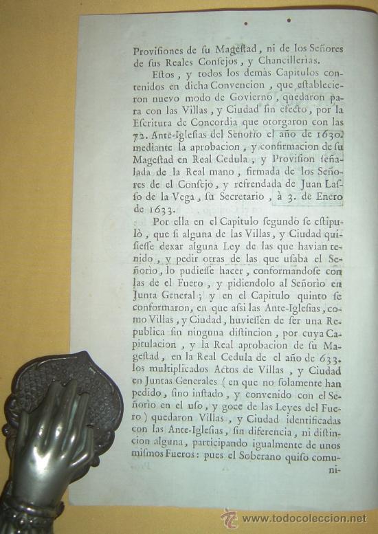 Libros antiguos: 1487-1633 HISTORIA REAL DE VIZCAYA.IMPRESA EN BILBAO.RARÍSIMA.PUEDE PAGARSE A PLAZOS - Foto 4 - 27640964