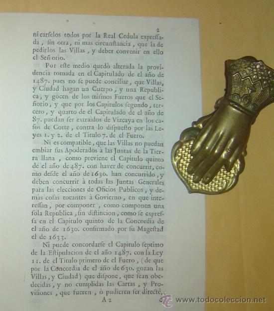 Libros antiguos: 1487-1633 HISTORIA REAL DE VIZCAYA.IMPRESA EN BILBAO.RARÍSIMA.PUEDE PAGARSE A PLAZOS - Foto 5 - 27640964