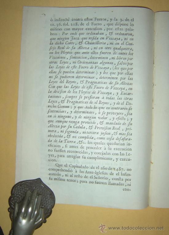 Libros antiguos: 1487-1633 HISTORIA REAL DE VIZCAYA.IMPRESA EN BILBAO.RARÍSIMA.PUEDE PAGARSE A PLAZOS - Foto 6 - 27640964