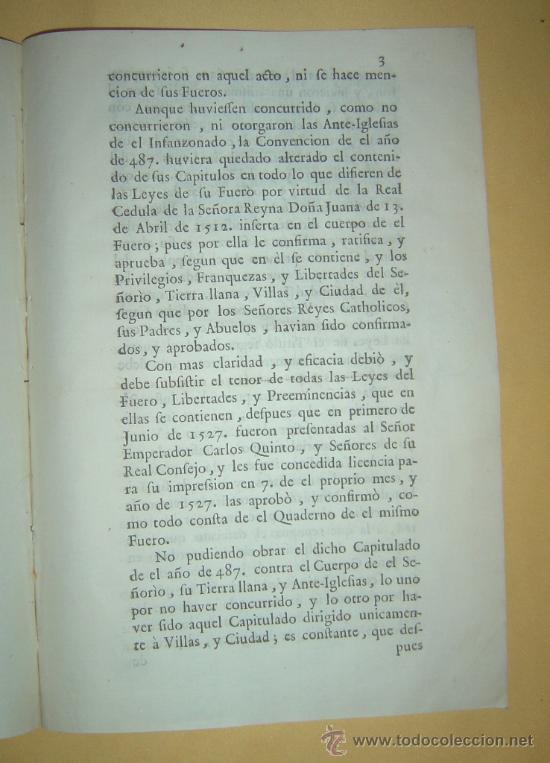 Libros antiguos: 1487-1633 HISTORIA REAL DE VIZCAYA.IMPRESA EN BILBAO.RARÍSIMA.PUEDE PAGARSE A PLAZOS - Foto 7 - 27640964