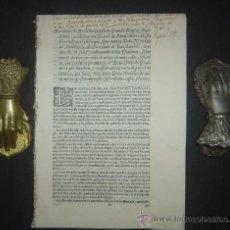 Libros antiguos: 1630-PLEYTO DE TIERRAS,VALENCIA, JERÉZ, JAÉN. MUY RARO.PUEDE PAGARSE A PLAZOS. Lote 27640966
