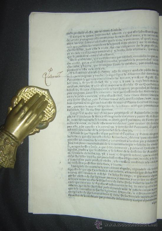 Libros antiguos: 1630-PLEYTO DE TIERRAS,VALENCIA, JERÉZ, JAÉN. MUY RARO.PUEDE PAGARSE A PLAZOS - Foto 7 - 27640966