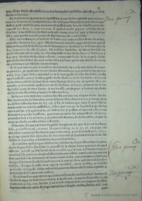 Libros antiguos: 1630-PLEYTO DE TIERRAS,VALENCIA, JERÉZ, JAÉN. MUY RARO.PUEDE PAGARSE A PLAZOS - Foto 10 - 27640966