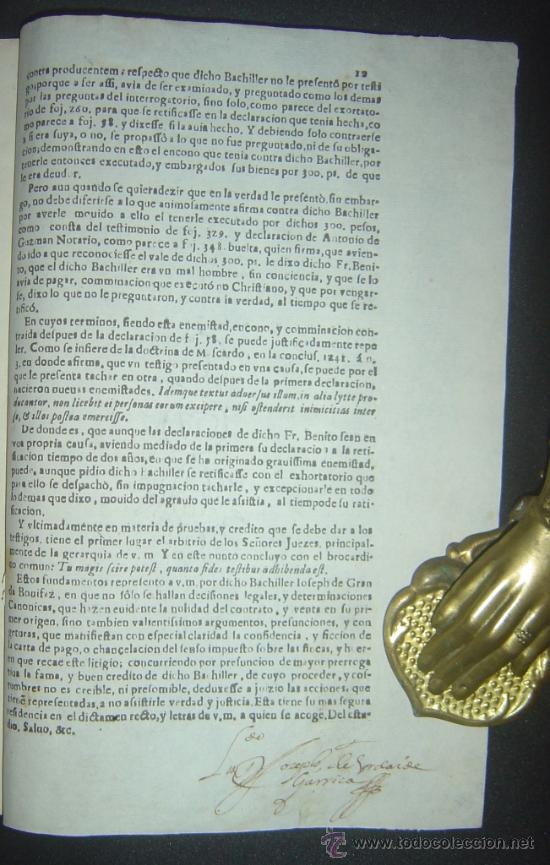 Libros antiguos: 1630-PLEYTO DE TIERRAS,VALENCIA, JERÉZ, JAÉN. MUY RARO.PUEDE PAGARSE A PLAZOS - Foto 12 - 27640966
