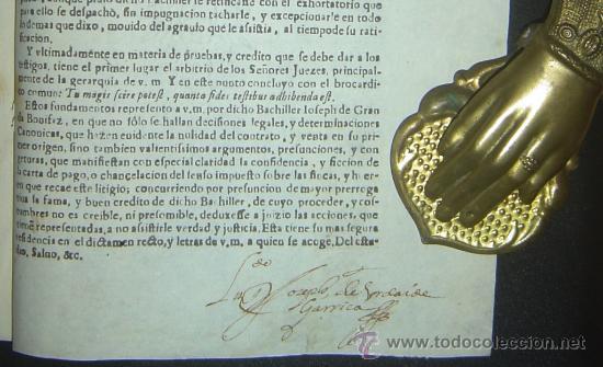 Libros antiguos: 1630-PLEYTO DE TIERRAS,VALENCIA, JERÉZ, JAÉN. MUY RARO.PUEDE PAGARSE A PLAZOS - Foto 13 - 27640966