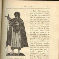 Libros antiguos: 1926: LEÓN - ESTAMPAS DE LA VIDA EN LEÓN DURANTE EL SIGLO X. Lote 26632439