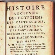 Libros antiguos: 1734: LA VIDA DE ALEJANDRO MAGNO - EL GRANDE HISTORIA, ANTIGUO POR ROLLIN. Lote 23518527