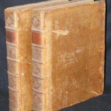Libros antiguos: HISTORIA DE ALEJANDRO MAGNO, JUEGO DE 2 GRANDES VOLUMENES, AÑO 1724, EN LATÍN. (25,5 X 20,5 X4,5 CM). Lote 23598302