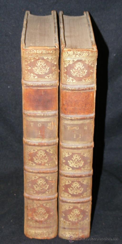 Libros antiguos: HISTORIA DE ALEJANDRO MAGNO, JUEGO DE 2 Grandes VOLUMENES, año 1724, En Latín. (25,5 x 20,5 x4,5 cm) - Foto 2 - 23598302